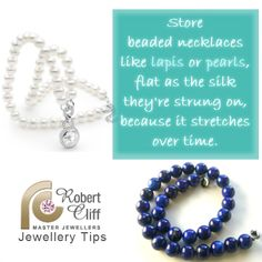 Good #jewellerytip to avoid scattered beads all over the floor! #jewellerylover #pearls #jewelrytip #fashiontip #beautytip  #beautyquotes #jewellerytip