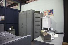Locker cabinets Max - WOOOD. Industriële metalen lockerkasten, Industriemetallschließfachschränke,Industrial metal locker cabinets, Industriels armoires vestiaires de méta. #immcologne #imm2015