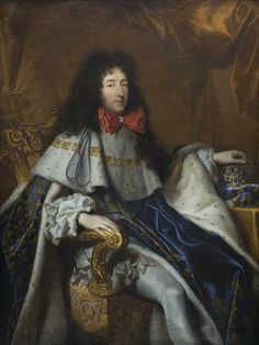 Philippe of France, Duke of Orléans and brother of Louis XIV, bearing the cross of the Order of the Holy Spirit Louis Xiv, Roi Louis, Saint Empire Romain, Black Dwarf, Potrait Painting, Maria Theresa, Lady In Waiting, French Revolution, King Charles