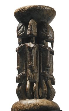 Dogon Six-Figure Caryatid Altar, Mali   Lot   Sotheby's