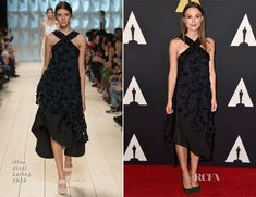 Keira Knightley In Nina Ricci – Academy Of Motion Picture Arts And Sciences' Governors Awards