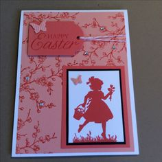 Stampin' Up! Easter Blossom in calypso coral