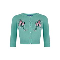 Lucy Romantic Floral Cardigan
