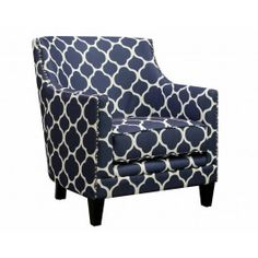 Bring The Beach Home With This Deep Marine Inspired Accent Chair | American  Freight Furniture