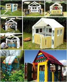 Build a Playhouse for Your Kids To Have an Enjoyable Outdoor Time