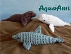 Crochet sea animals
