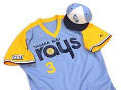 Tampa Bay Rays, throwback uniforms