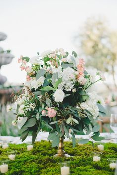 An Elegant Garden Inspired Wedding with Boho Vintage Elegance