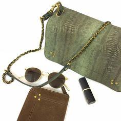 45 отметок «Нравится», 2 комментариев — S K Y - A M S T E R D A M (@sky_amsterdam) в Instagram: «On my desk today..the green watersnakeskin #bobi and and a kaki goatskin purse #jeremy both by…»