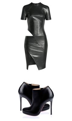 """Untitled #14"" by totallysurfernurd ❤ liked on Polyvore featuring Alexandre Vauthier and Christian Louboutin"