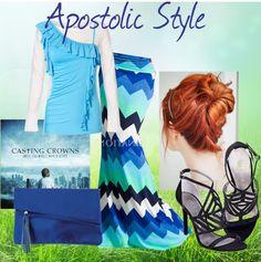 """Apostolic Style LOVE CHEVRON :D"" by emmyholloway on Polyvore"