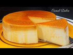 FLAN DE QUESO SIN HORNO SIN HUEVO UN FLAN QUE LO TIENE TODO ES RÁPIDO , FÁCIL Y ECONÓMICO - YouTube Cheesecake, Pudding, Sweets, Simple, Youtube, Desserts, Recipes, Food, Fig Salad