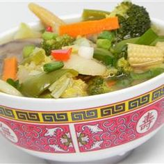 Chinese Chicken Vegetable Soup Allrecipes.com