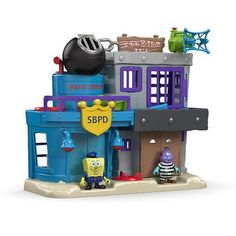 "Fisher-Price Imaginext SpongeBob Bikini Bottom Police Station and Jail -  Fisher-Price - Toys""R""Us"