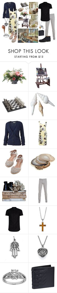 """""""SiZam: Home"""" by dottieonthemoon ❤ liked on Polyvore featuring Allstate Floral, EASEL, Uma, Fat Face, M&Co, Jeffrey Campbell, Eleventy, Topman, John Hardy and Bling Jewelry"""