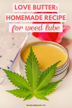 Weed Recipes, Marijuana Recipes, Diy Bath Salts With Essential Oils, Weed Butter, Cannabis Edibles, All You Need Is, Homemade Recipe, Cocoa Butter, Cannabis Cookbook