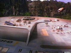 Evacuation of the Enterprise D from Star Trek: Generations