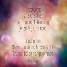 Unterwegs zu sich selbst (Hans Kruppa)