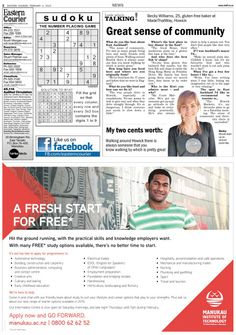 Eastern Courier Digital Edition - 4 Feb 2015 Madethatway made it into the papers again.