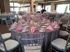 Grey and Pink themed wedding » Tustin Ranch Weddings