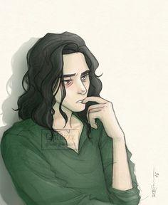 """gwalis:  """" captbexx:  """" Loki :O  [Society6]  """"  Lokiiiiii !! *3* I want to see more Loki from you !!  """"  You will! ^-^ I've already coloured some Jotun Lokis, Lady Lokis, and Agent of Asgard Lokis. So many Lokis! *-*"""