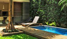 By Alex Hanazaki #patio #small_pool #outdoor #landscape
