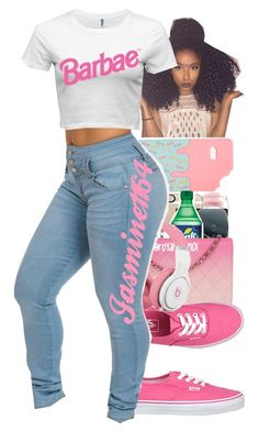 """""""Barbae"""" by jasmine1164 ❤ liked on Polyvore featuring ASOS and Vans"""