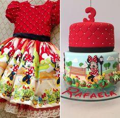 Minnie Mouse dress inspired | https://lomejordelaweb.es/