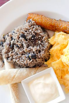 Authentic Costa Rican Gallo Pinto recipe (beans and rice). A filling flavorful dish solo or perfect side dish, even for breakfast! - BoulderLocavore.com