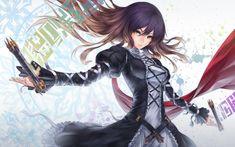 Fantasy Anime Mage Girl