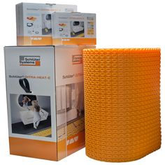 Ditra Heat E-Kit (7 Sheets, Cable and Thermostat. 60.2 sf)