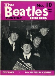 BEATLES Monthly Book Magazine No 10 May 1964 in Excellent condition