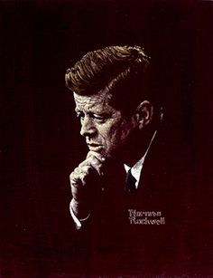 Norman Rockwell (1894-1978), Portrait of John F. Kennedy, 1963, oil on canvas