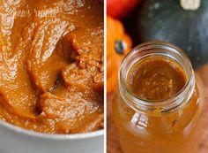 Pumpkin Butter | Skinnytaste.  I am soooo making this tomorrow, then using it for pumpkin pancakes on Sat. morning!!!!!