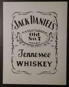 Pinterest • The world's catalog of ideas Jack Daniels Logo Stencil