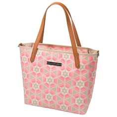 Petunia Pickle Bottom Diaper Bag Mini Downtown Tote Glazed Blooming Brixham #laylagrayce