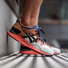 "UBIQ x Asics Gel-Lyte V ""Midnight Bloom"""