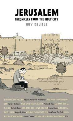 Jerusalem Graphic Noval by Guy Delisle