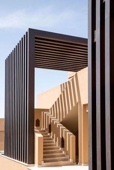 Anantara Jabal Akhdar Resort by Atelier Pod Modern Pergola, Pergola Patio, Pergola Plans, Interior Design Magazine, Pergola Designs, Facade Architecture, Facade House, Modern House Design, Exterior Design