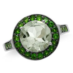 Natural Green Amethyst Chrome Diopside White Gold Plated 925 Sterling Silver Cocktail Ring Size 10 >>> To view further for this item, visit the image link. Amethyst Jewelry, Diamond Jewelry, Jewelry Rings, Jewelery, Purple Quartz, Size 10 Rings, Affordable Jewelry, Cocktail Rings, Bracelet Watch