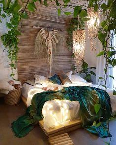 Bohemian bedroom and bedding design - Böhmisches Schlafzimmer Dekor - Deco Tip