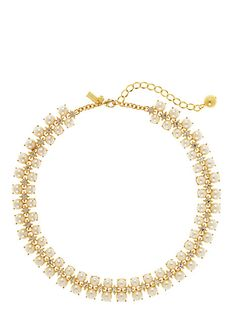 twinkling fete collar necklace