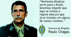 BLOG DO FUMANCHÚ: Reunião com General Paulo Chagas e o Doutor Miguel...