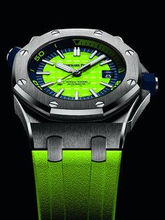 Audemars Piguet: Royal Oak Offshore Diver, green