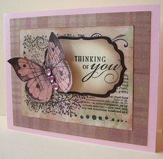 collage stamp and diecut