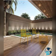 109 trending small pool designs for your backyard 17 . Small Swimming Pools, Small Backyard Pools, Backyard Pool Designs, Small Pools, Swimming Pools Backyard, Swimming Pool Designs, Pool Landscaping, Backyard Patio, Moderne Pools