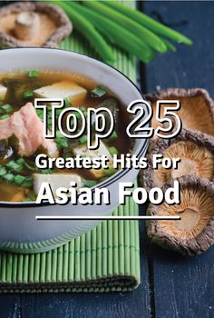 These 25 Asian recipes are better than take out. Save money and make your own tastier Asian meal with one of these recipes. Thai Recipes, Diabetic Recipes, Asian Recipes, Yummy Recipes, Healthy Recipes, Thanksgiving Recipes, Holiday Recipes, Cooking Tips, Cooking Recipes