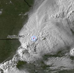 Back to the EF5 in Joplin  MO  This one is incredible  A hose     5 22 11 Joplin Missouri  satelite view