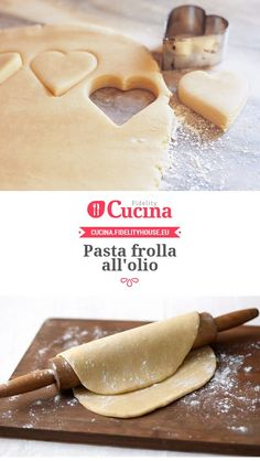 Pasta frolla all'olio - Shrimp Recipes Biscotti Cookies, Biscuit Cake, Italian Cookies, Bread And Pastries, Healthy Sweets, Healthy Recipes, Italian Recipes, Sweet Recipes, Food To Make