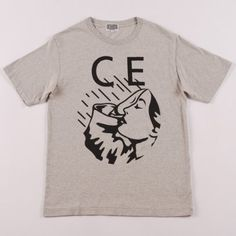 C E - Logo Tee:  This is the first time I have encountered the brand C E (thank you Goodhood) and although it's a tad pricey, this is one of the most awesome T-shirts I have seen in a while. Simple. Bold.